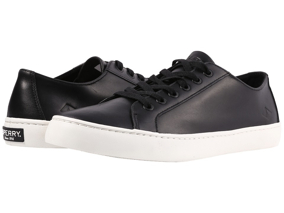 Sperry - Cutter LTT Leather (Black) Men's Shoes