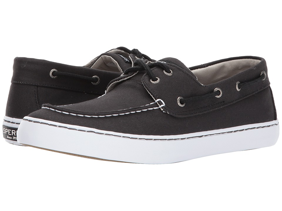 Sperry - Cutter 2-Eye (Black) Men's Shoes