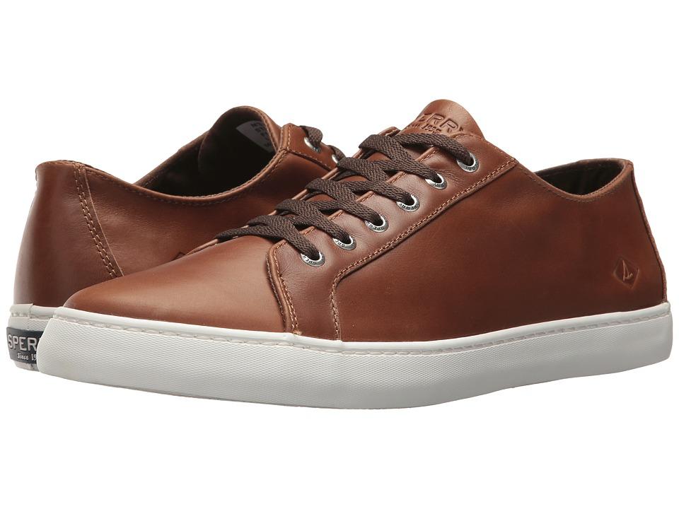 Sperry Cutter LTT Leather (Dark Tan) Men