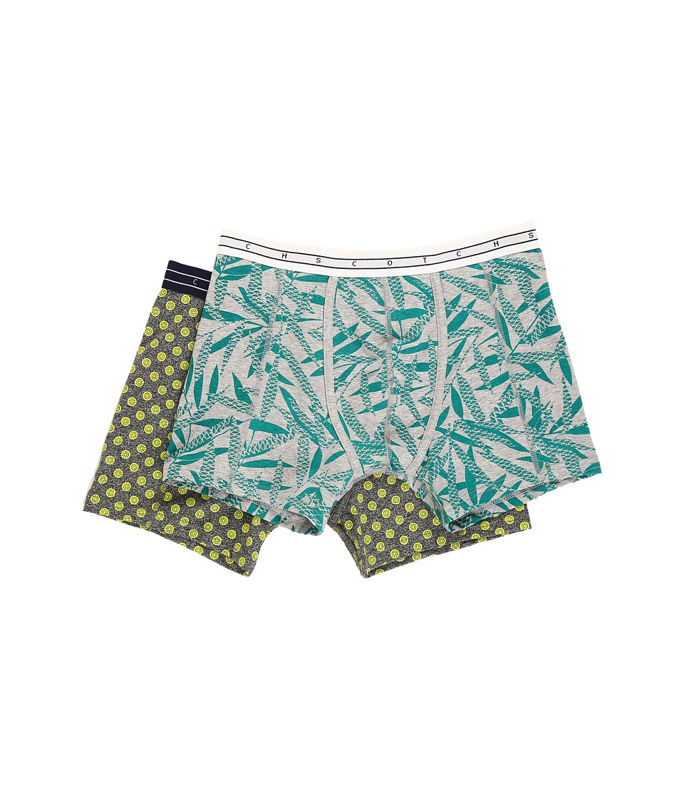 Scotch & Soda - Classic Melange Boxer Shorts (Combo B) Men's Underwear