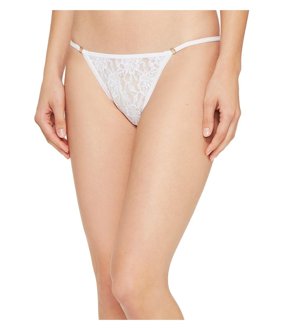 Hanky Panky - Signature Lace String Bikini (White) Women's Underwear