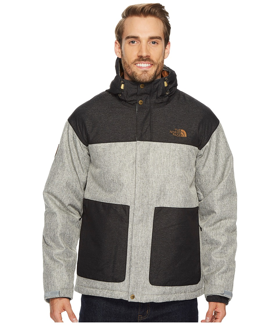 The North Face Fordyce Triclimate Jacket (Monument Grey Herringbone/TNF Black Dobby) Men