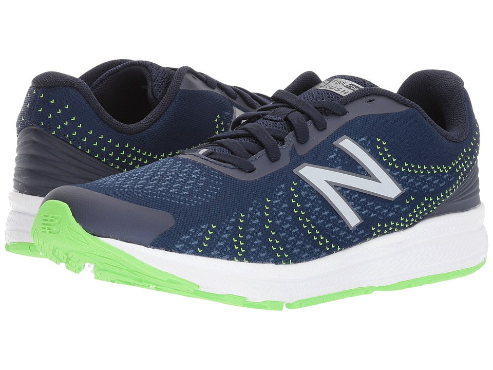New Balance Kids Rush (Big Kid) (Navy/Navy) Boys Shoes