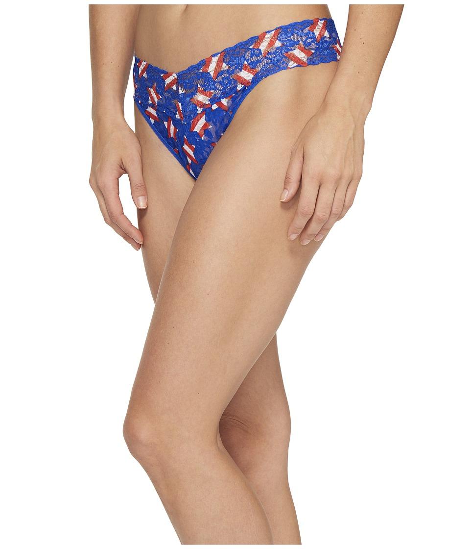Hanky Panky - Star Spangled Original Rise Thong (Multicolor) Women's Underwear