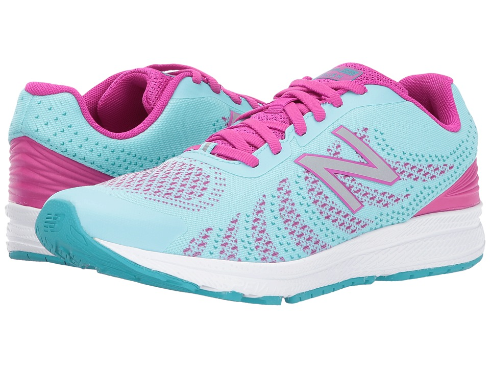 New Balance Kids Rush (Big Kid) (Purple/Blue) Girls Shoes