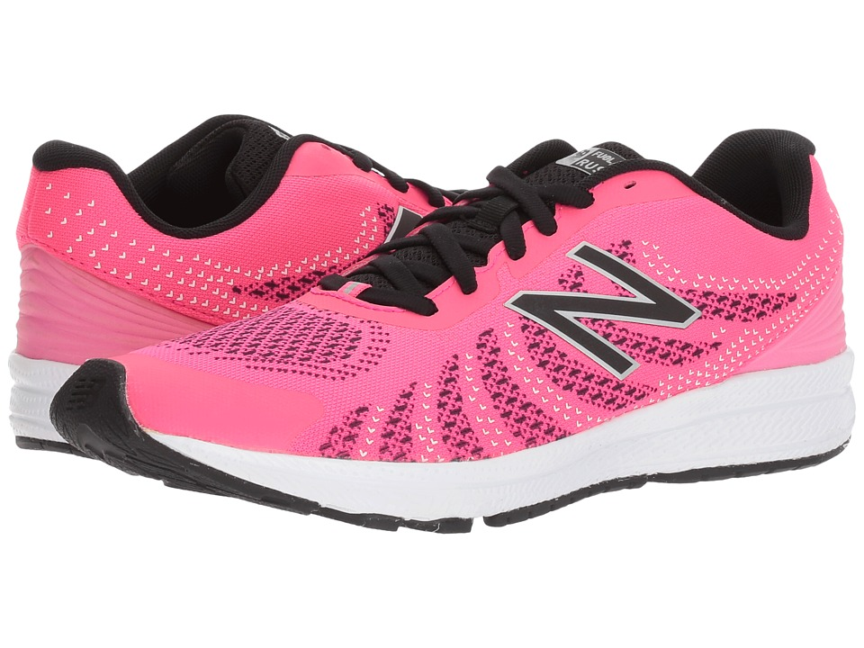 New Balance Kids Rush (Big Kid) (Pink/Black) Girls Shoes