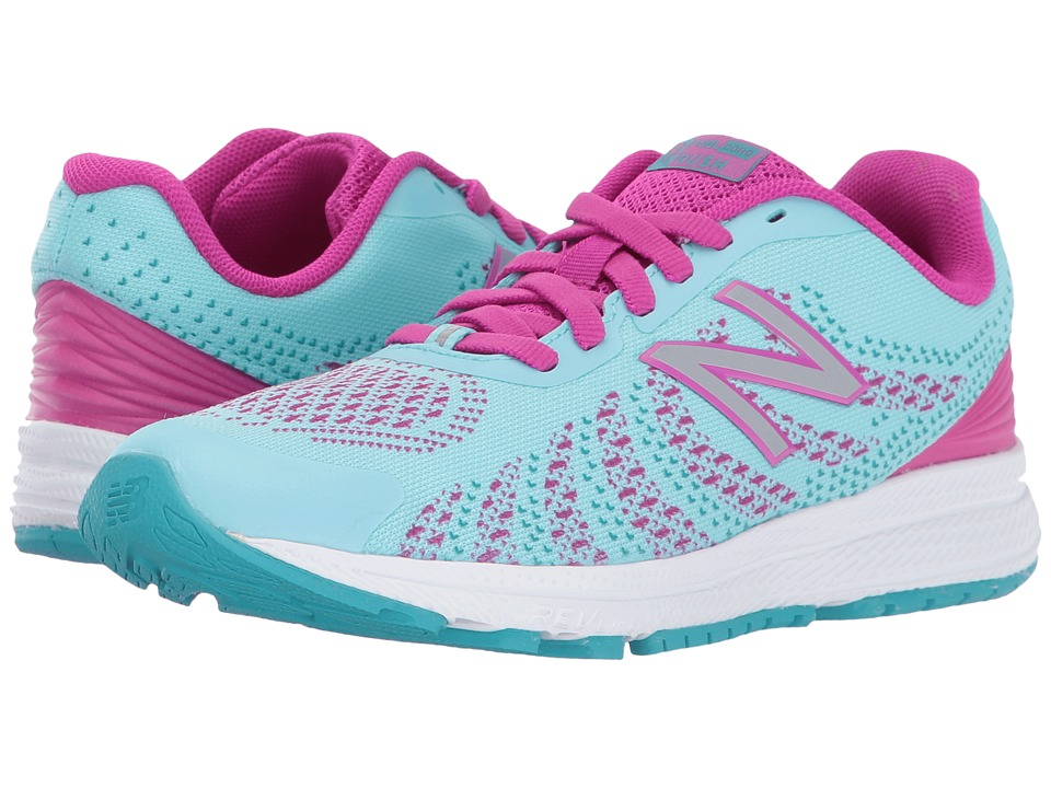 New Balance Kids Rush (Little Kid) (Purple/Blue) Girls Shoes