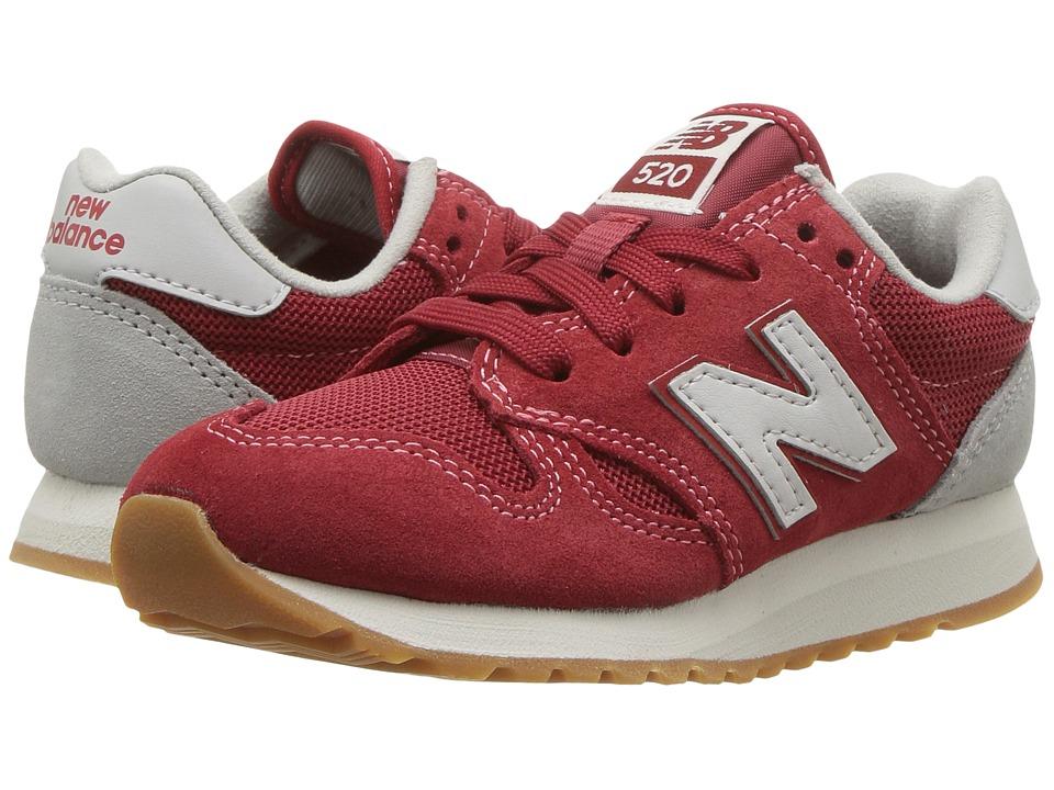 New Balance Kids KL520v1 (Little Kid/Big Kid) (Red/White) Boys Shoes