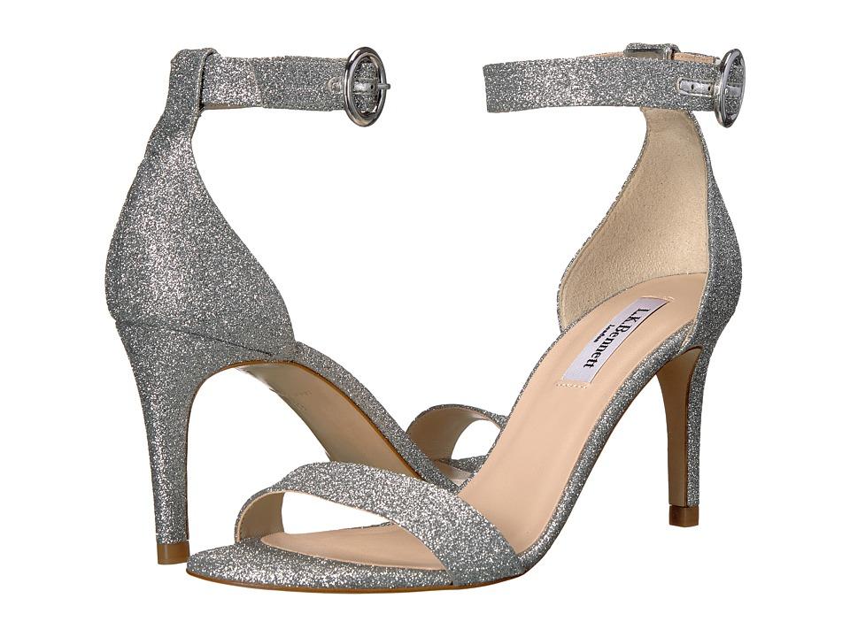 L.K. Bennett - Dora (Silver Fine Glitter) Women's 1-2 inch heel Shoes