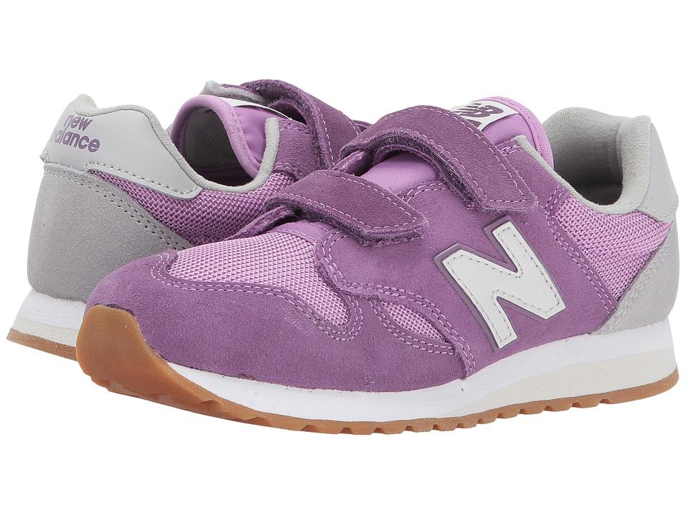 New Balance Kids KA520v1 (Little Kid/Big Kid) (Purple/White) Girls Shoes