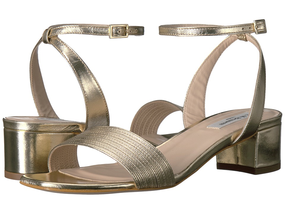 L.K. Bennett - Charline (Soft Gold Metallic Nappa) Women's Flat Shoes