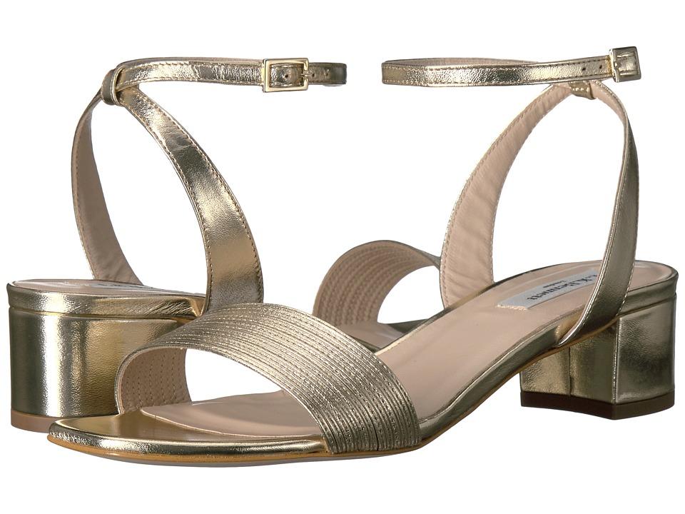 L.K. Bennett - Charline (Soft Gold Metallic Nappa) Women's Flat Shoes
