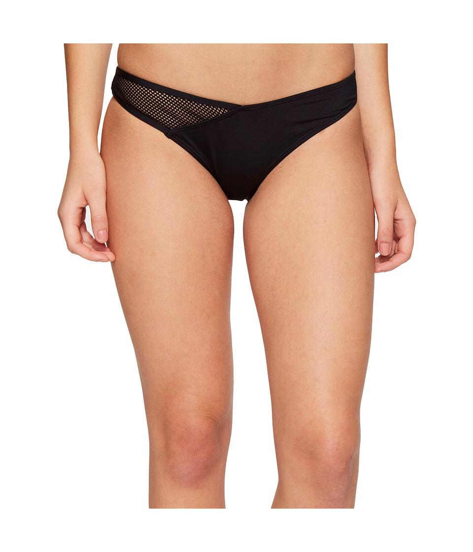 Dolce Vita - Courtside Bottom with Mesh Panel (Black) Women's Swimwear