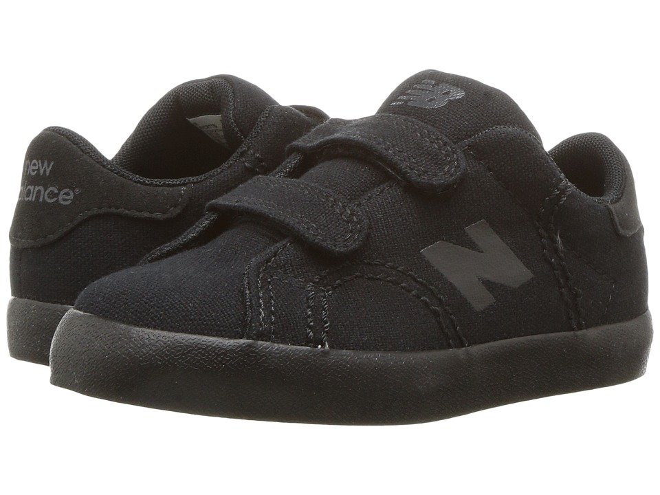 New Balance Kids Pro Court (Infant/Toddler) (Black/Black) Boys Shoes