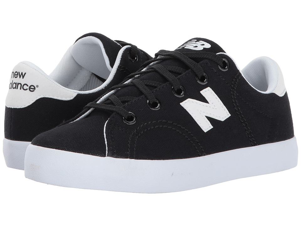 New Balance Kids - Pro Court (Little Kid/Big Kid) (Black/White) Boys Shoes