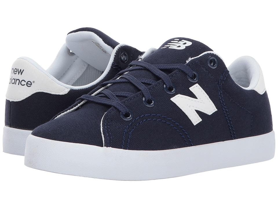 New Balance Kids Pro Court (Little Kid/Big Kid) (Navy/White) Boys Shoes