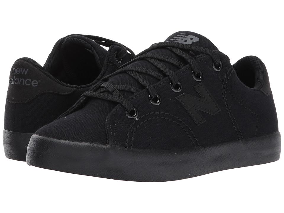 New Balance Kids Pro Court (Little Kid/Big Kid) (Black/Black) Boys Shoes