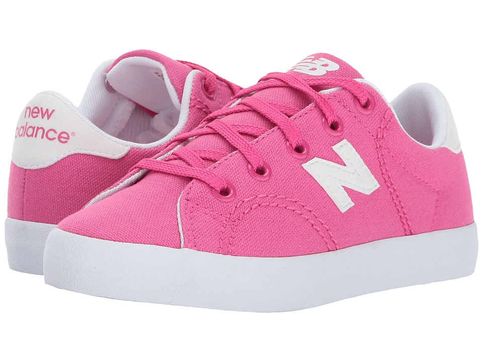 New Balance Kids Pro Court (Little Kid/Big Kid) (Pink/White) Girls Shoes