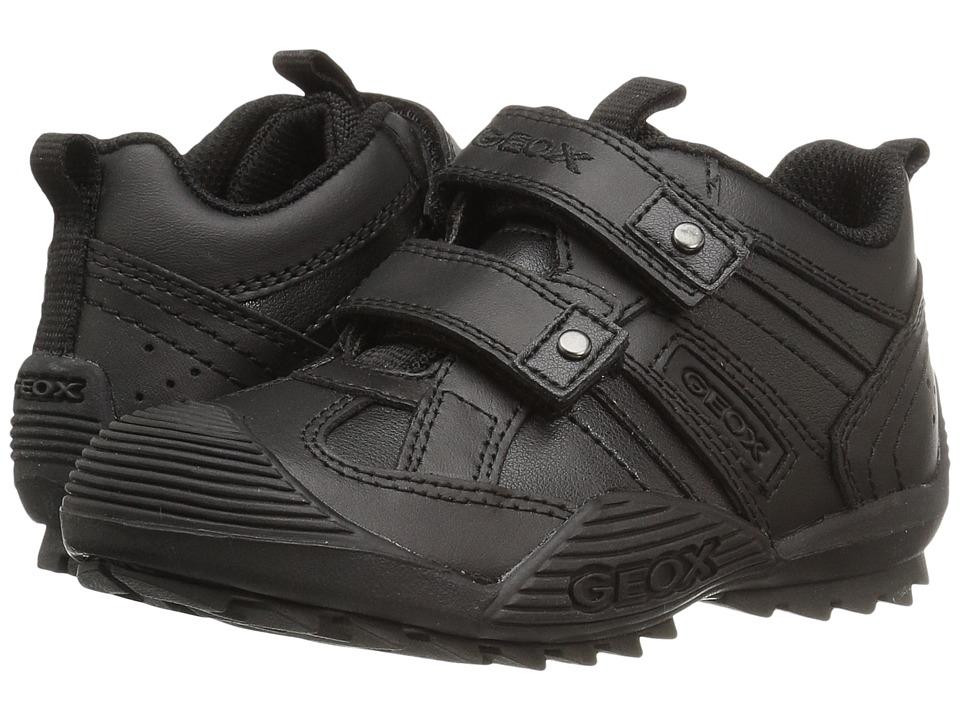 Geox Kids - Jr Savage 10 (Toddler/Little Kid) (Black) Boys Shoes