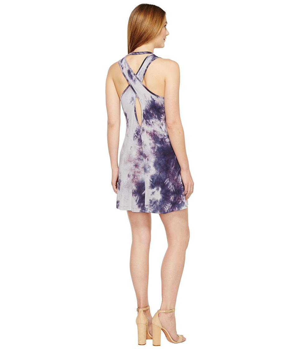 Culture Phit - Adara Sleeveless Cross-Back Dress (Purple) Women's Dress