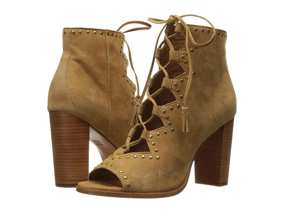 Frye - Gabby Ghillie Stud (Sand Suede) High Heels