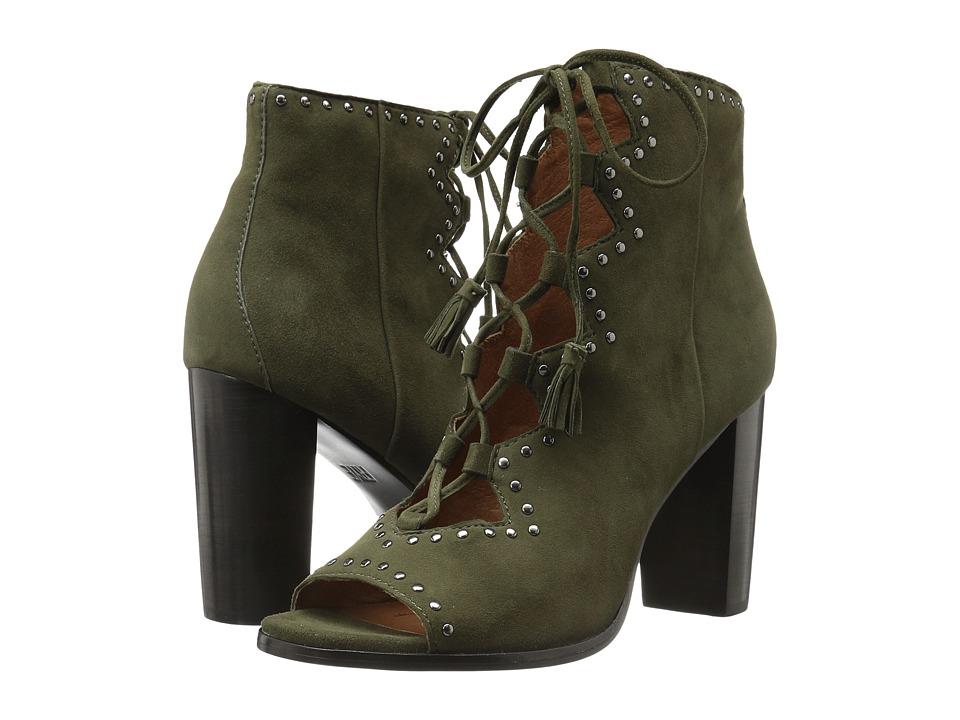 Frye - Gabby Ghillie Stud (Forest Suede) High Heels