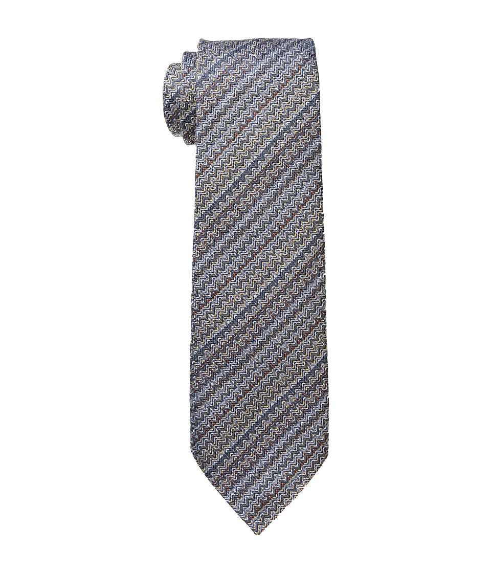 Missoni - CR8ASEU5898 (Multi Grey/Blue) Ties