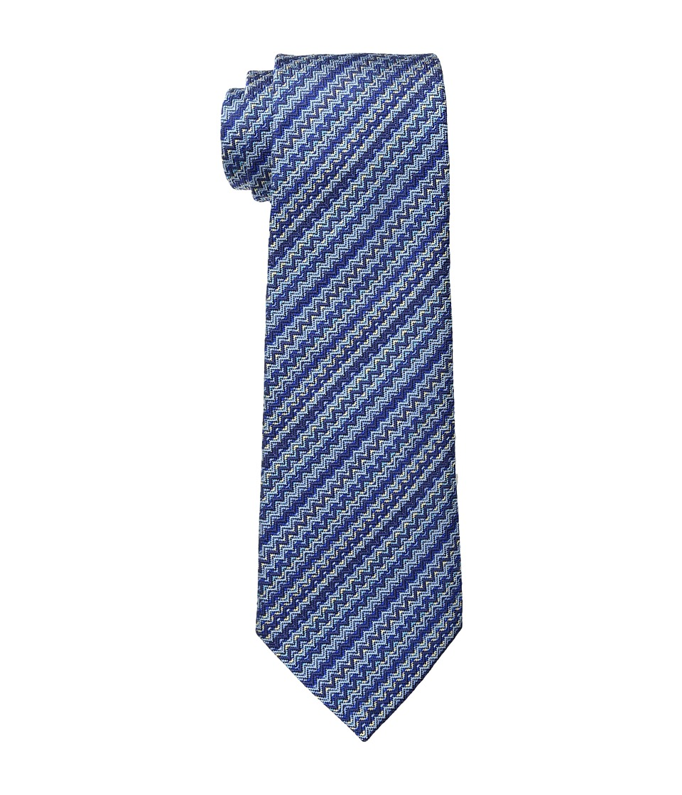 Missoni - CR8ASEU5898 (Blue) Ties