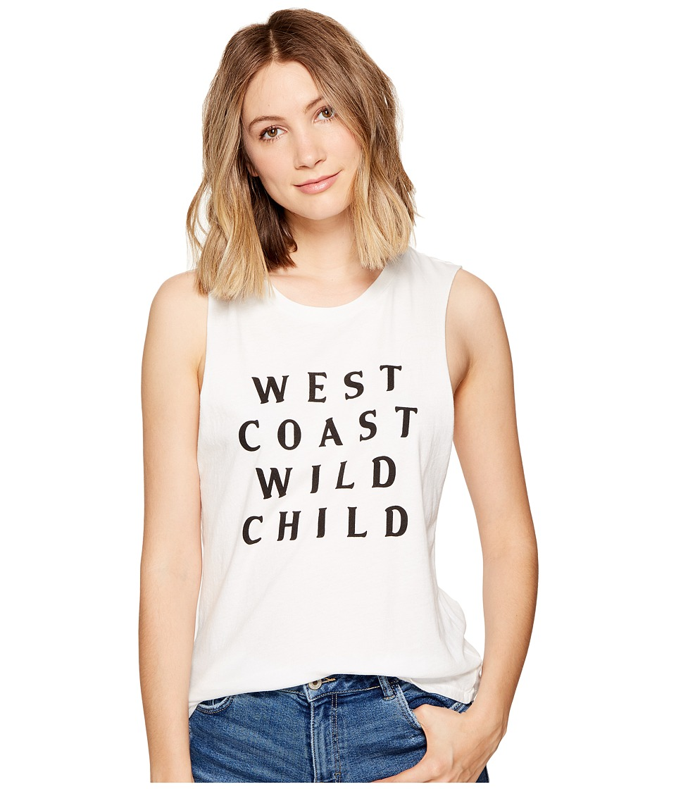 Amuse Society - Wild Child Tank (Casa Blanca) Women's Sleeveless