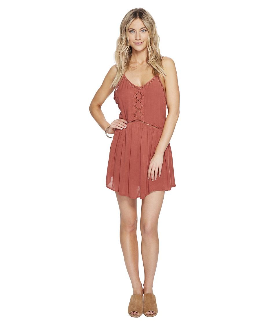 Amuse Society - Tatum Dress (Baked Clay) Women's Dress