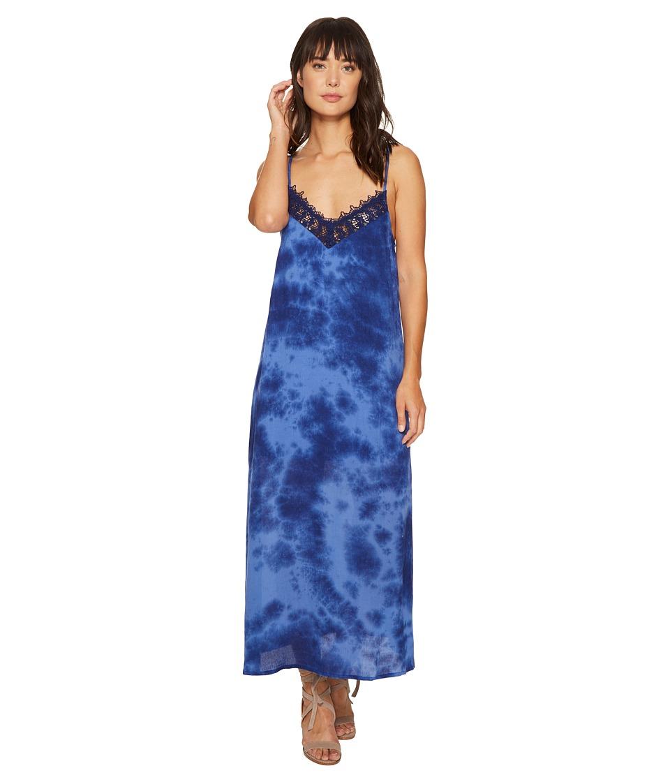 Amuse Society Delilah Dress (Blue) Women