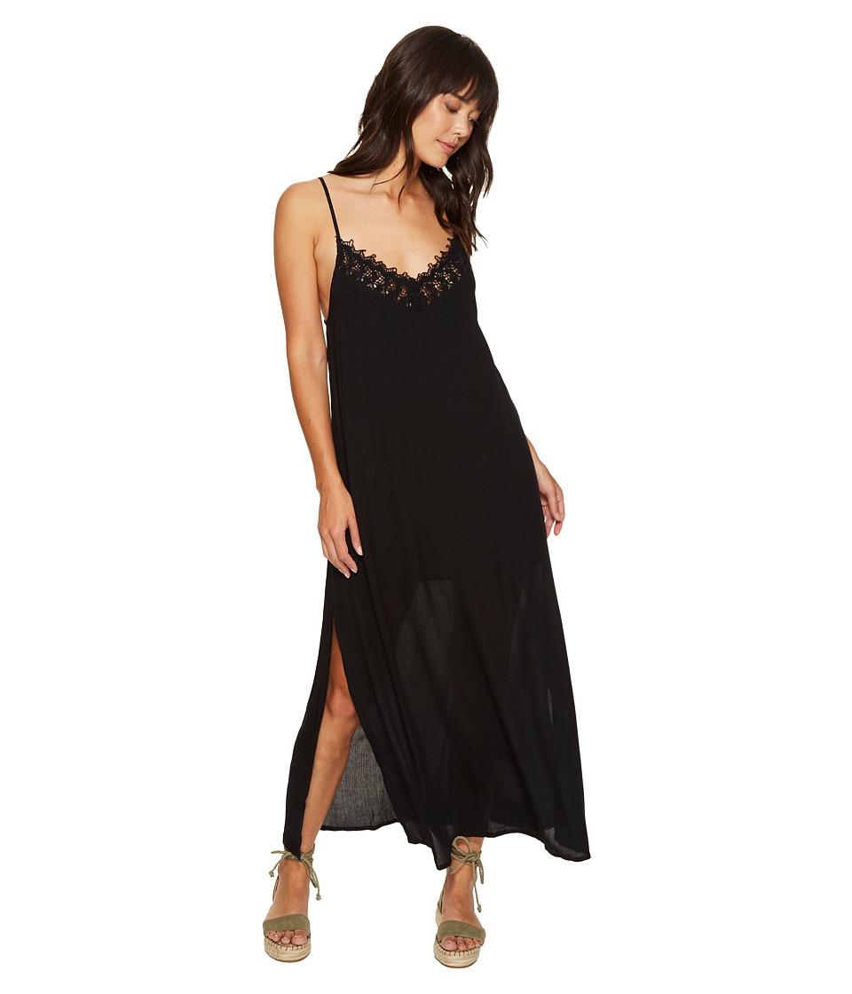Amuse Society Delilah Dress (Black) Women