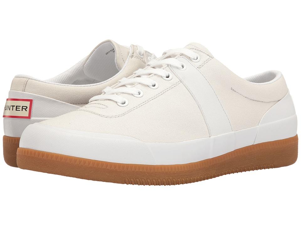 Hunter Original Sneaker Lo Canvas (White/Gum) Men