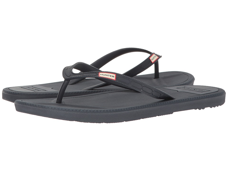 Hunter - Original Flip-Flop (Navy) Men's Shoes