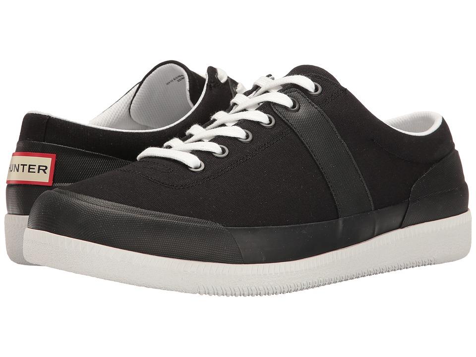 Hunter Original Sneaker Lo Canvas (Black/White) Men