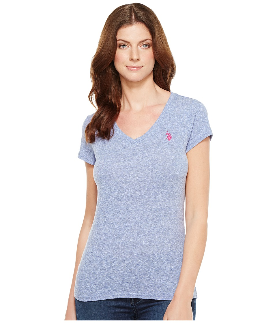 U.S. POLO ASSN. - V-Neck T-Shirt (Deep Dive) Women's T Shirt