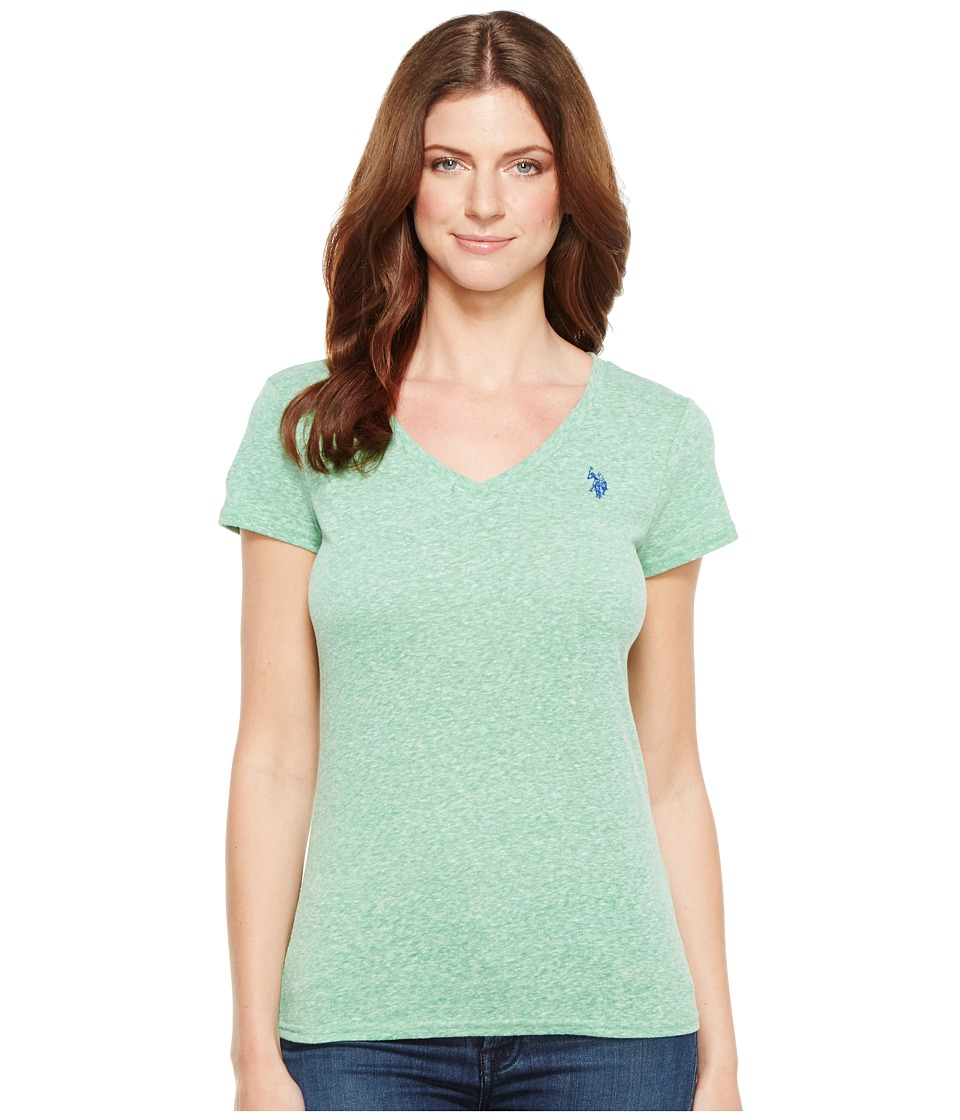 U.S. POLO ASSN. - V-Neck T-Shirt (Giant Fern) Women's T Shirt
