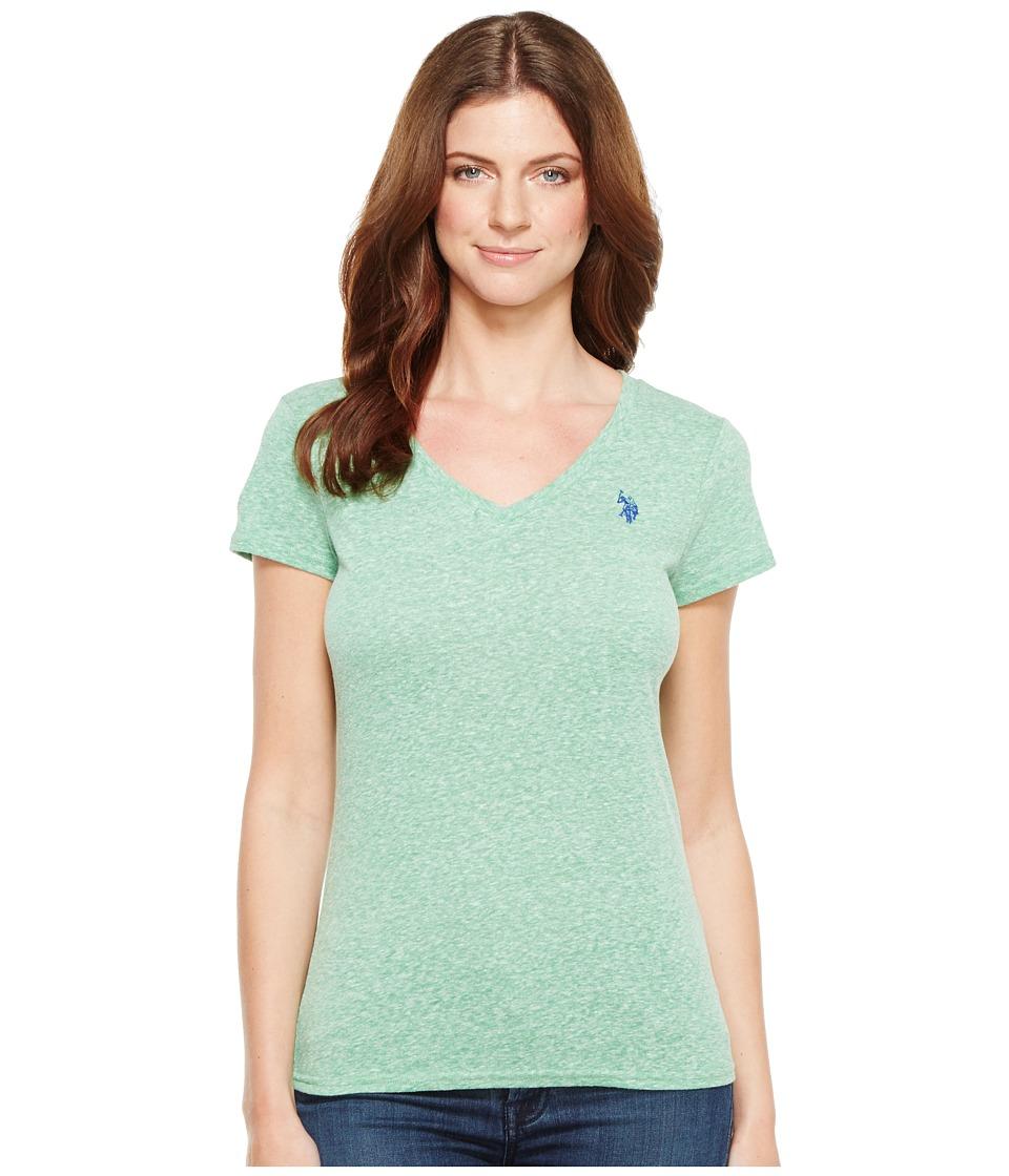 U.S. POLO ASSN. - V-Neck T-Shirt (Giant Fern) Women's T Shirt