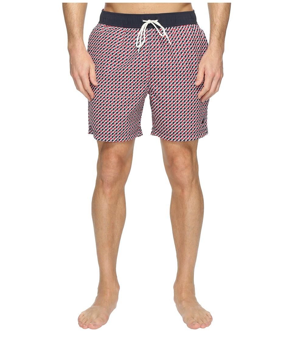 Nautica - Multi Arrow Trunk (Nautica Red) Men's Swimwear