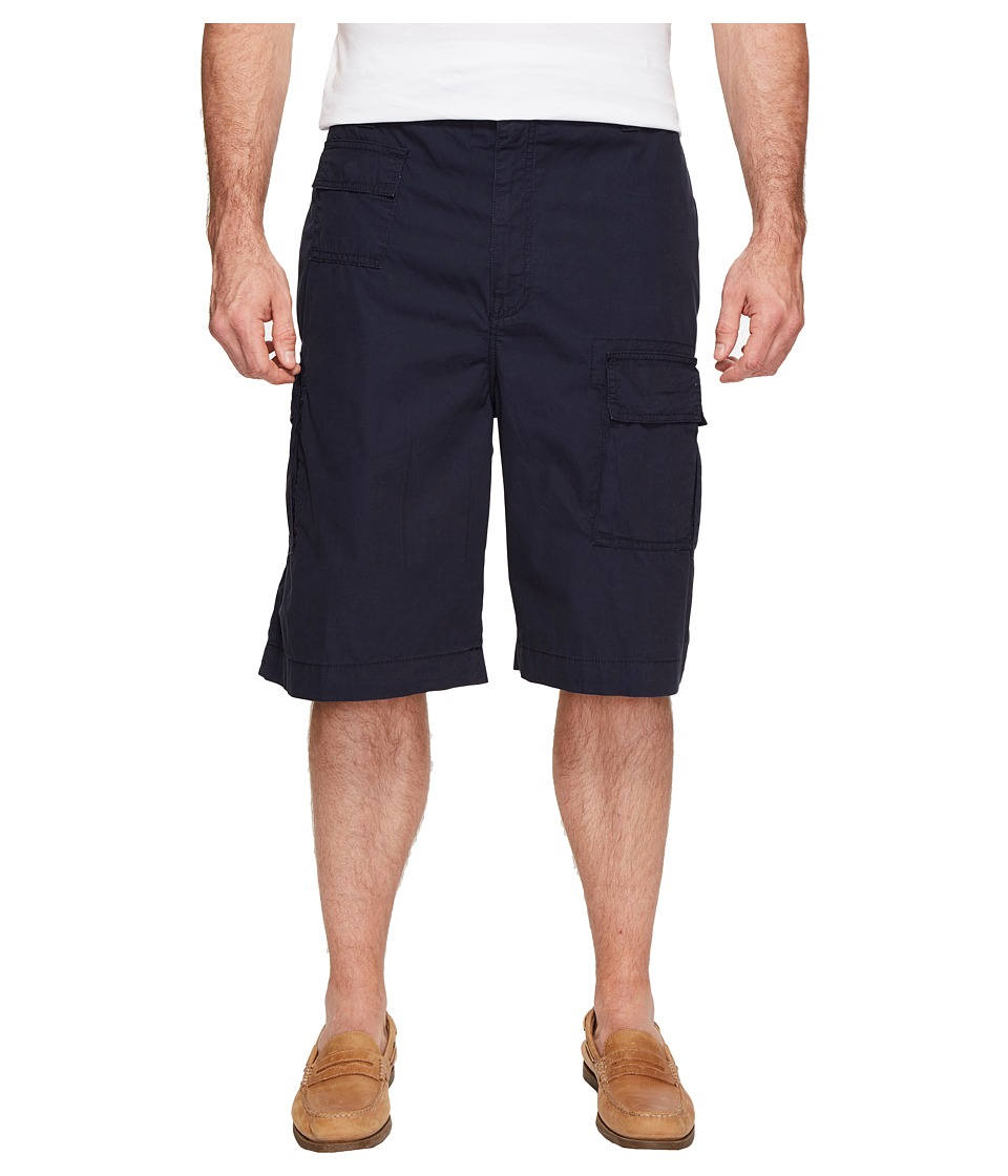 Nautica Big & Tall Big Tall Navagator Cargo Shorts (True Navy) Men