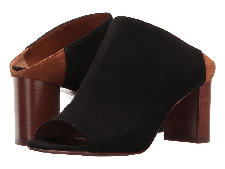 Aquatalia - Seneca (Black Suede) Women's Shoes