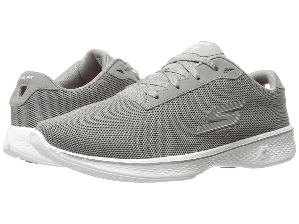 SKECHERS Performance Go Walk 4 Brisk (Gray) Women