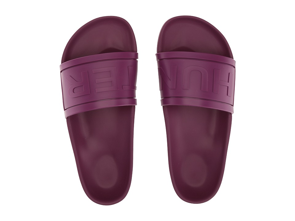 Hunter - Original Hunter Slide (Bright Violet) Women's Shoes