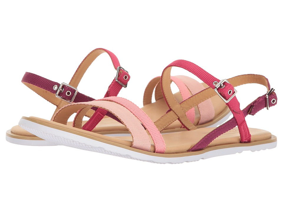 Hunter - Original Ticker Tape Sandal (Pink Sand/Panther Pink/Mosse Pink/Brown/White) Women's Sandals