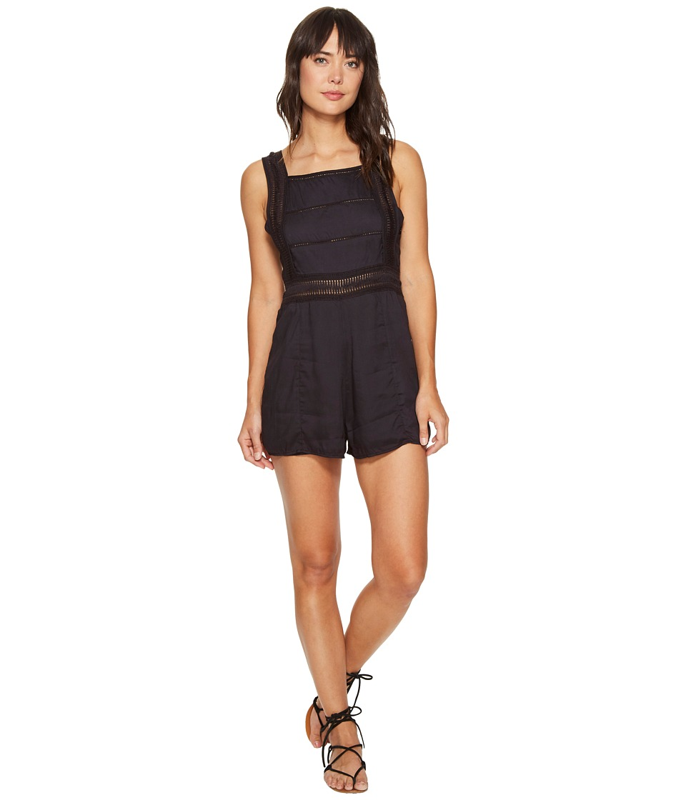 Amuse Society - Sarafina Romper (Black) Women's Jumpsuit & Rompers One Piece