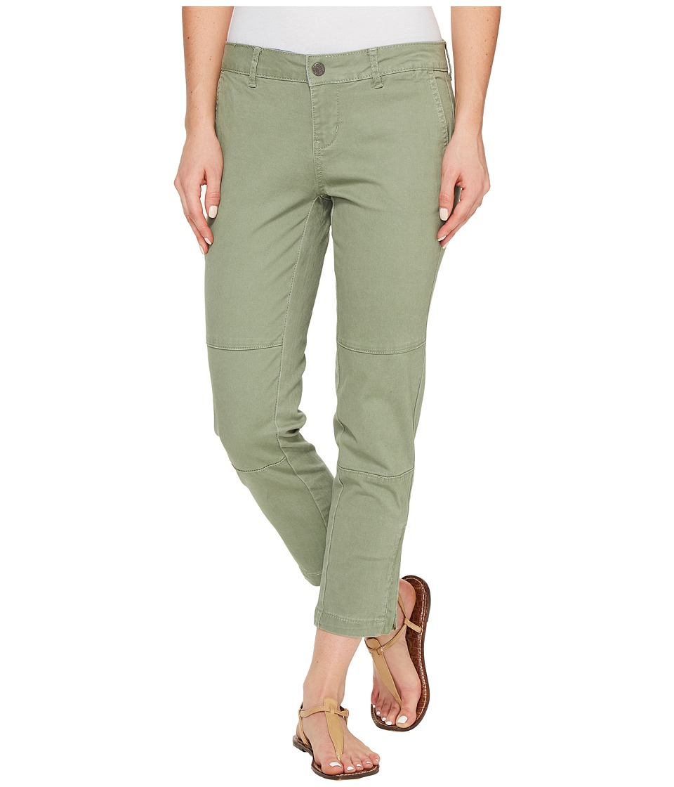 U.S. POLO ASSN. - Jackson Chino Crop Pants (Sea Spray) Women's Casual Pants