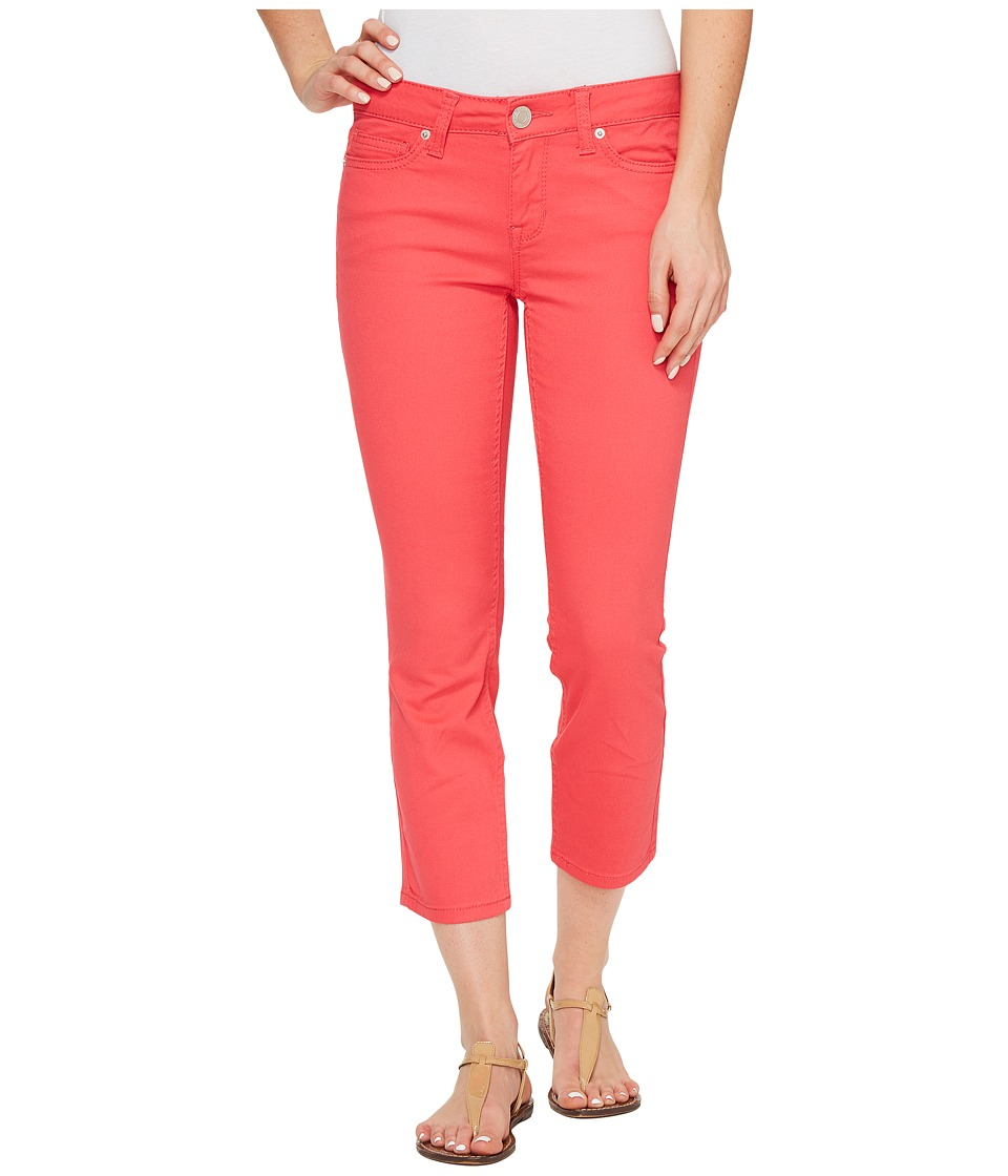 U.S. POLO ASSN. - Lulu Stretch Twill Capri Pants (Pink Martini) Women's Casual Pants