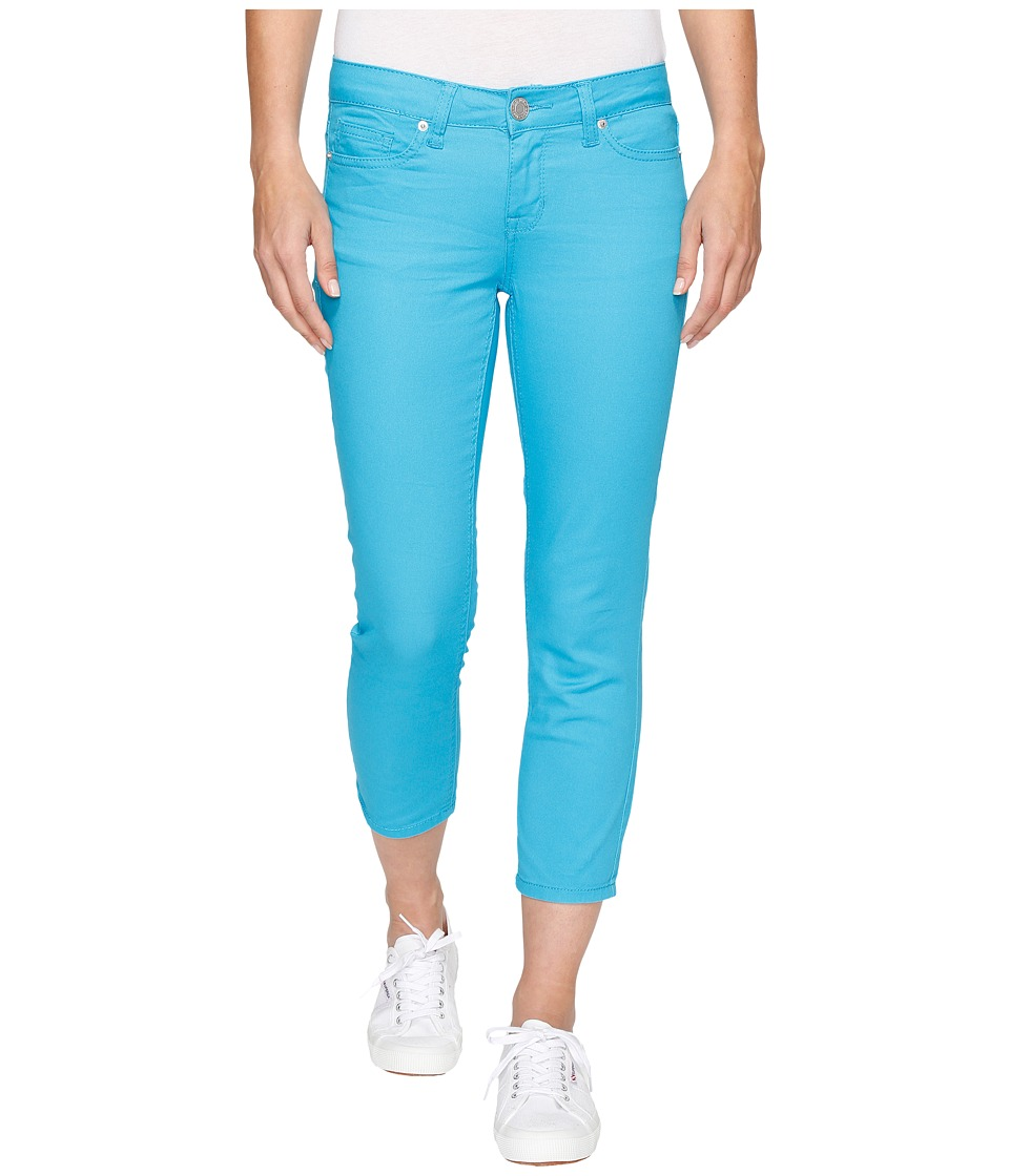 U.S. POLO ASSN. Lulu Stretch Twill Capri Pants (Surf Blue) Women