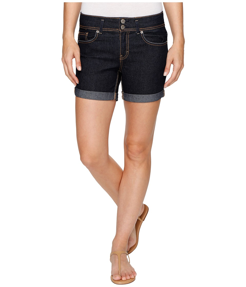 U.S. POLO ASSN. - Florence Stretch Denim High-Rise Shorts (True Rinse) Women's Shorts