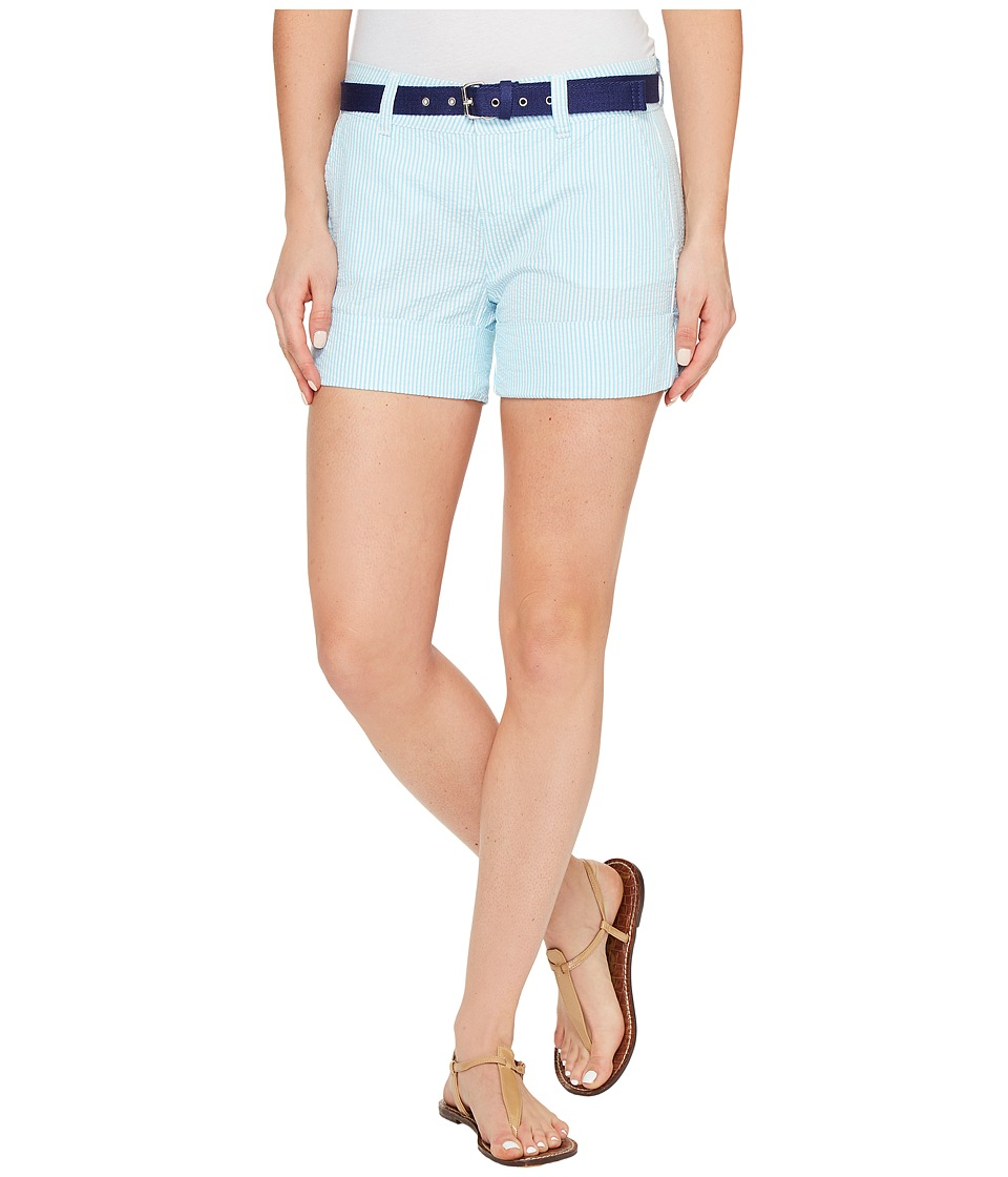 U.S. POLO ASSN. - Chino Shorts (Bachelor Button) Women's Shorts